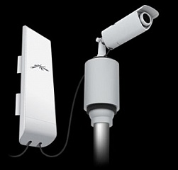 Абонентская станция NanoStation M2 802.11 g/n, интегрированная антенна 10Дб (55*53 град.)